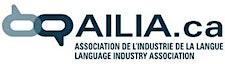 AILIA - L'Association de l'industrie de la langue   Language Industry Association logo