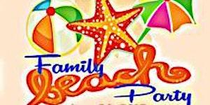 Family Beach Party 2016