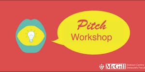 Perfecting Your Pitch Workshop