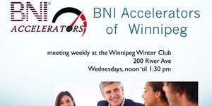Winnipeg Business Referral Networking with BNI Accelera...