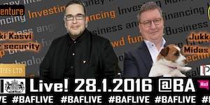 BAF Live! 28.1.2016 @BritishEmbassy (Helsinki)