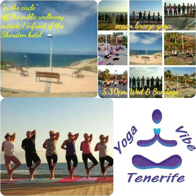 Ocean Breeze Yoga - Yoga Vibe Tenerife - La C