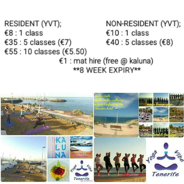 Ocean Breeze Yoga - Yoga Vibe Tenerife - Kalu