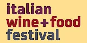 2016 Italian Wine + Food Festival MELBOURNE