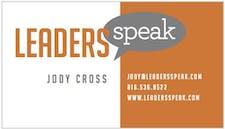 Leaders Speak - Jody Cross logo