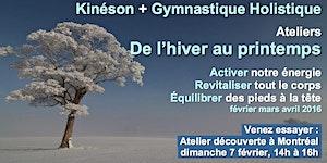 Atelier-découverte Kinéson et Gymnastique Holistique /...