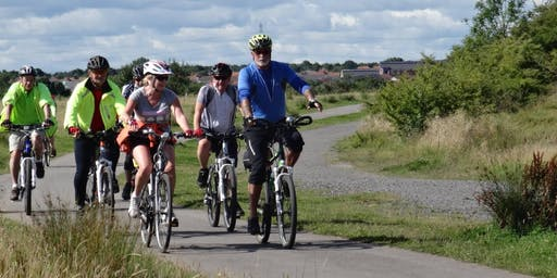 Intermediate Bike Ride at the Rising Sun Country Park, North Tyneside (FIRST RIDE IN EACH MONTH LEAVES FROM WYEDALE GARDEN CENTRE, GOSFORTH PARK, NE3 5EP)