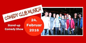 Comedy Club Munich - Stand-up Comedy Show - 24....