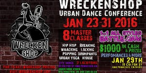 WRECKENSHOP URBAN DANCE CONFERENCE 2016