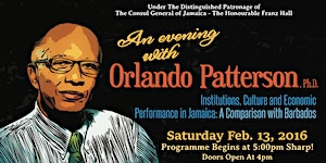 An Evening With Orlando Patterson