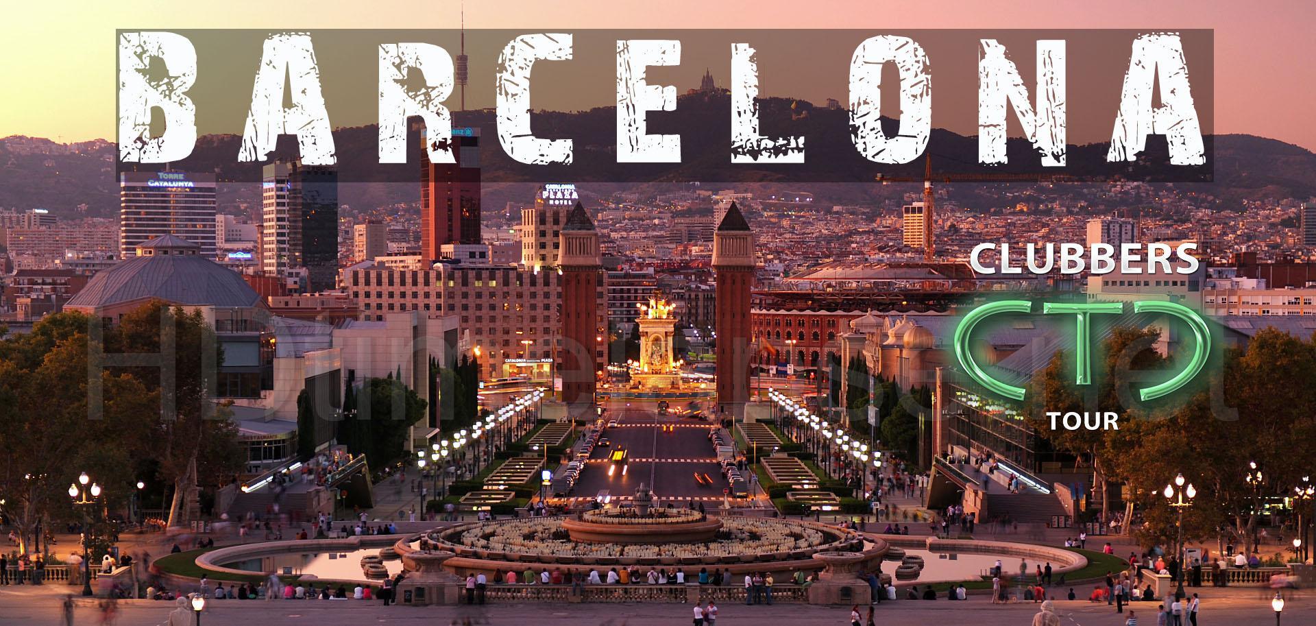 Clubbers Tour Barcelona Booking Pub Crawl Bar
