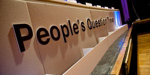People's Question Time in Croydon