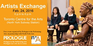 Feb 24th Prologue Artists Exchange