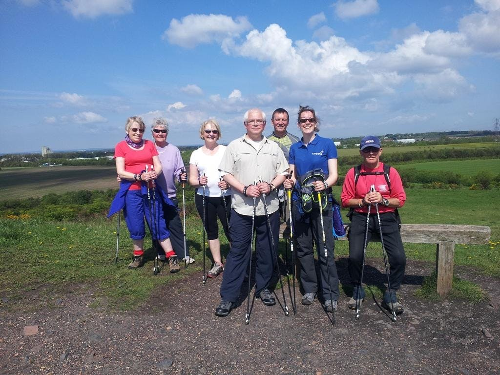 Nordic Walking at the Rising Sun Country Park