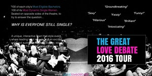 The Great Love Debate returns to NYC!