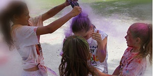 Franklin Middle's My School Color Run!