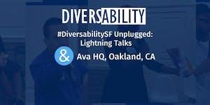 Diversability SF Unplugged: launch + lightning talks
