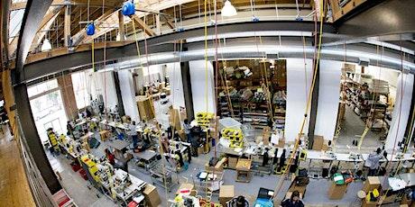 Timbuk2 San Francisco Factory Tour // First Fridays tickets