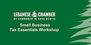 Small Business Tax Essentials Workshop