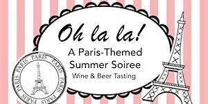 Paris-Themed Wine & Beer Tasting Cruise