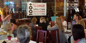100+ Women Who Care Silicon Valley April 2016 Meeting