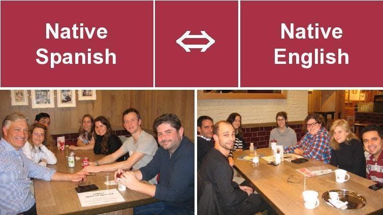 Londres Language Exchange INTERCAMBIO (Native English – Native Spanish)
