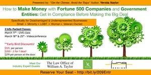 How to Make Money with Fortune 500 Companies and...