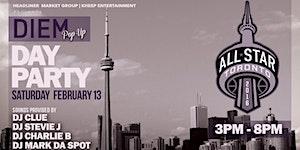 All Star Weekend 2016 DIEM POP UP Day Party @ NEST