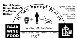 Barrel Smoker Dinner Series V: The Paella Edition
