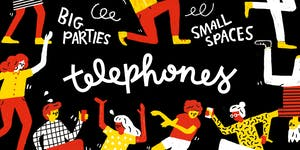 [Tickets available at the door] TELEPHONES at TENGU