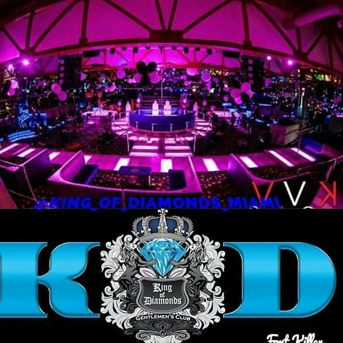 KING OF DIAMONDS PARTY PACKAGE DRINKS & ROUND
