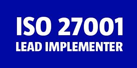 ISO 27001 Lead Implementer bilhetes
