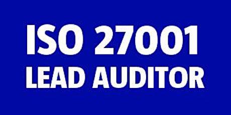 ISO 27001 Lead Auditor bilhetes