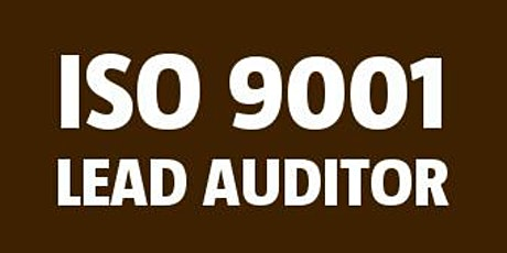 ISO 9001 Lead Auditor tickets