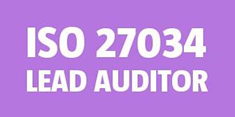 ISO 27034 Lead Auditor bilhetes