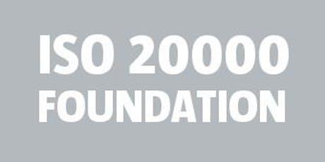 ISO 20000 Foundation bilhetes