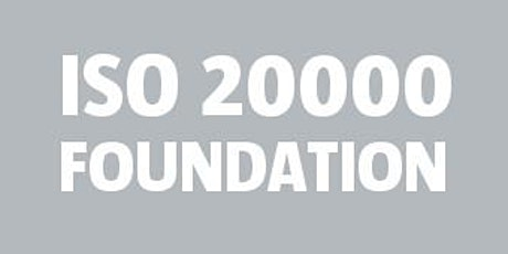 ISO 20000 Foundation tickets