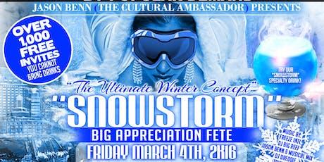 SNOWSTORM APPRECIATION FETE tickets