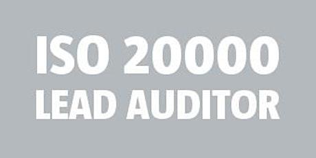 ISO 20000 Lead Auditor bilhetes