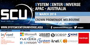 System Center Universe Australia 2016
