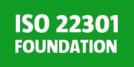 ISO 22301 Foundation tickets