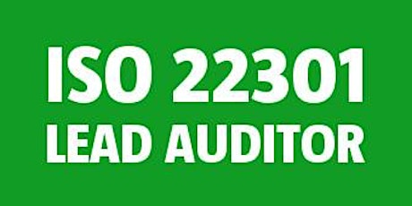 ISO 22301 Lead Auditor tickets