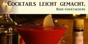 Cocktails leicht gemacht. Basic-Cocktailkurs in Köln.