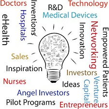 Healthcare Pioneers logo