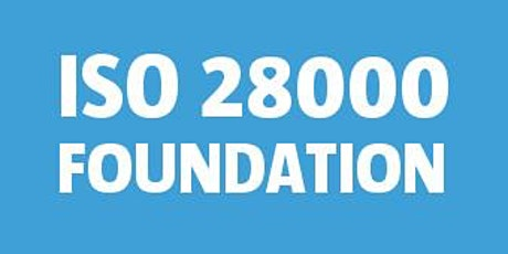 ISO 28000 Foundation bilhetes