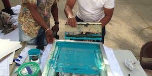 Community Screen Printing Workshops