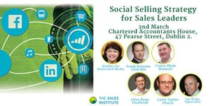Social Selling Strategy for Sales Leaders – 2nd March