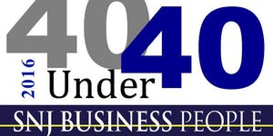 SNJ Business People 40 Under 40 Awards Reception - 2016