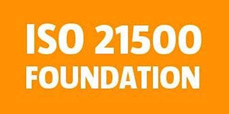 ISO 21500 Foundation bilhetes