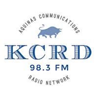 Aquinas Communications   FM 98.3 KCRD logo
